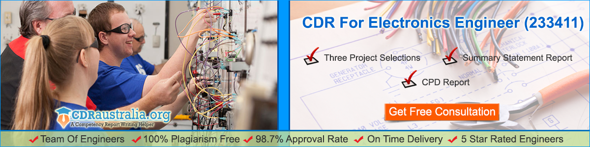 CDR Australia Electronics Engineer & Career Episode Report