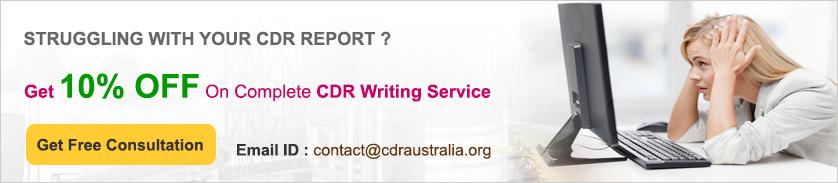 Sample CDR for Mechanical Engineer PDF | CDR Australia