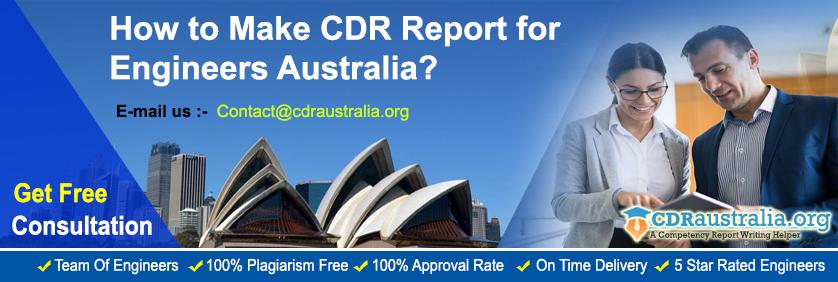 CDR Report for Engineers Australia