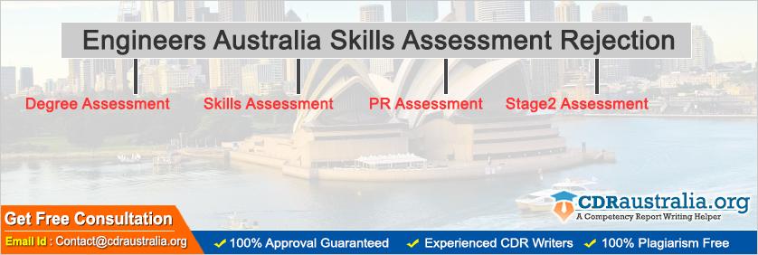 Engineers Australia Skills Assessment Rejection