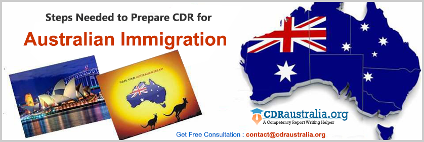 CDR for Australian Immigration